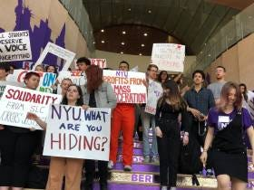 NYU Students Plan To Protest