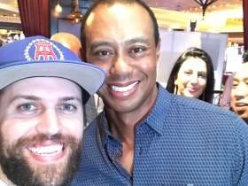 I Met Tiger Woods Last Night