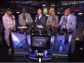 Charles Barkley Asked Kevin Durant If Draymond Green Is As Annoying In Person As He Is On TV So KD Told Chuck That He Should Go Downstairs And Ask Draymond Himself