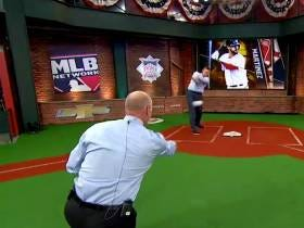 Billy Ripken Just Got SMOKED In The Face By Sean Casey