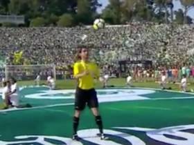 The Soccer Ball For The Portuguese Cup Final Was Brought To The Field Using Some Sort Of Black Magic