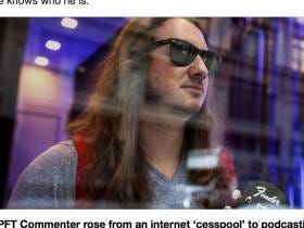 The Washington Post Does A Full Feature On PFT Commenter,