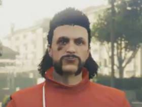 Rockstar Games Created A GTA V Character For Tex And It Looks Like He Should Come With A Restraining Order