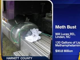 Mr. Arreola Got Caught Moving $90 Million In Liquid Meth