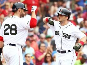Andrew Benintendi And Mitch Moreland Carry The Red Sox Past The Braves