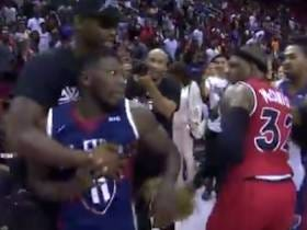 Last Night In The Big 3: Nate Robinson Hit A Game-Winning Shot, Got Into A Scrum With Rashad McCants Who Showed Up Wearing A Joker Mask And Thanos' Glove Before Kenyon Martin's Mom Got Into The Mix