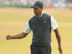 Tiger Woods Shoots An Electric 66 On Saturday To Put Himself In Contention