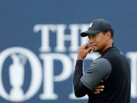 What does Tiger Woods need to shoot today to have a chance Sunday?