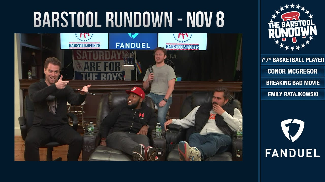 Barstool Rundown - November 8, 2018